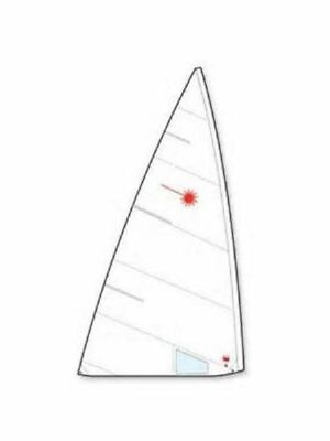 New Practise Laser standard sail w/ class insignias, tell tales & Win
