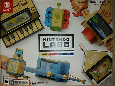 Nintendo Switch LABO Toy-Con 01 Variety Kit Bundle |BRAND NEW AUTHENTIC