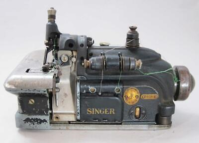 1953 SINGER 246K3 INDUSTRIAL OVERLOCK SEWING MACHINE vintage
