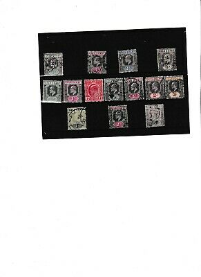 Very Good Lot Of Gold Coast Stamps To Qv 5S Mostly Kevii Mint Or Fine Used 63*