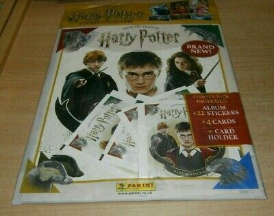 Panini Harry Potter From the Films of Saga Starter pack: Album, 22 Stickers &