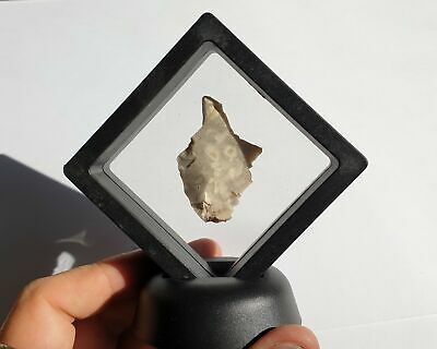 Neolithic Flake  In Floating Frame  - Yorkshire England