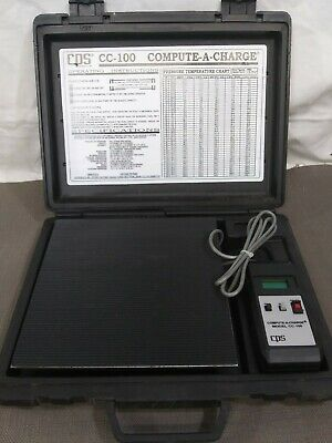 CPS Compute - A - Charge # CC100 Refrigerant Scale HVAC Air Conditioning