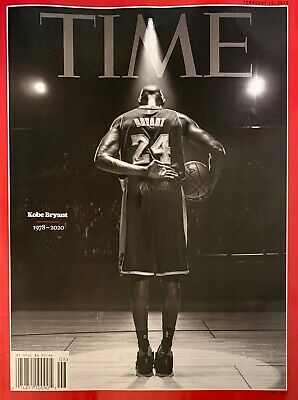 Time Magazine - Issue # 06 / February  10,  2020 - Kobe Bryant - 1St Class Ship