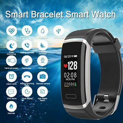 Smart Watch Band Sport Fitness Tracker Step Counter Pedometer Calorie Gt101 New