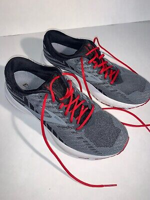 Brooks Launch 6 | Grey/Black/Red | Running Shoes Mens 8.5 | Energize Neutral