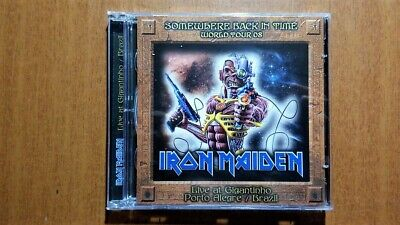 Iron Maiden - Somewhere Back in Time World Tour 08 Live at Gigantinho double CD