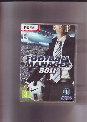Football Manager 2011 - Pc & Apple Mac Game - Fast Post - Original & Complete