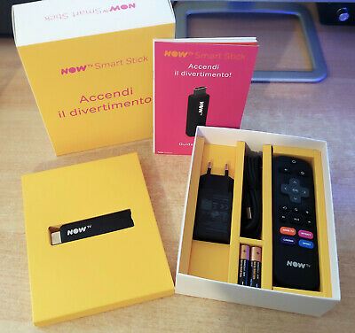 NOW TV Smart Stick nuova (senza ticket) - HDMI, Wi-Fi