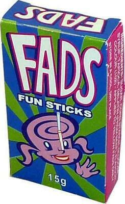 Fads Fun Sticks box of 48  /15g