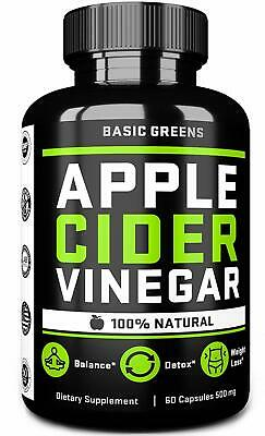 Apple Cider Vinegar Capsules With Cayenne Pepper For Fast Weight Loss Cleanse