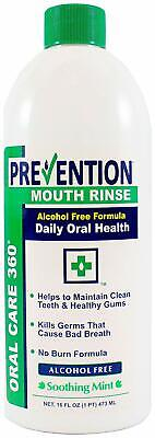 Antibacterial Mouth Rinse - Fights Plaque and Gingivitis (16 oz)