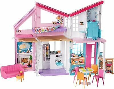 Barbie FXG57 Malibu 2 Story 6 Room Townhouse Playset with Over 25 Accessories