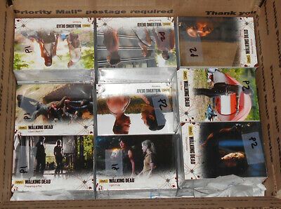 Walking Dead Season 4 Parts 1&2 ~ BASE CARD LOT (approximately 1700 cards total)