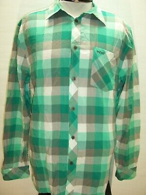 WESC Mens XL X-Large Button-up shirt Combine ship Discount