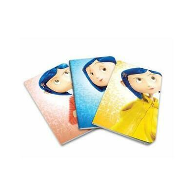 Coraline Pocket Notebook Collection (Set of 3) by Insight Editions (author)