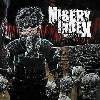 "CD MISERY INDEX ""DISCORDIA"". Nuevo y precintado"