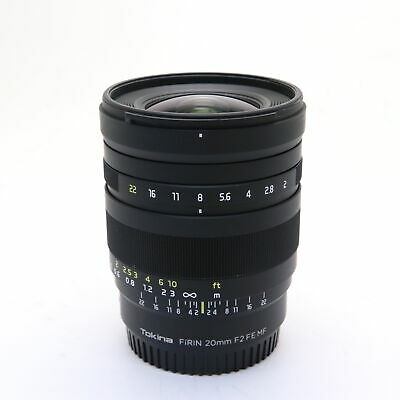 Tokina FiRIN 20mm F/2 FE MF (for SONY E/full frame) #452