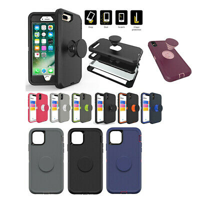 iPhone 11 Pro iPhone 11 Pro Max Defender Case w/Finger Stand Air Bag Car Mount