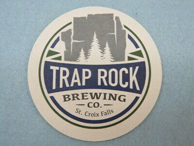 MONTANA Breweriana Beer Pub Coaster ~ MOUNTAINS WALKING Brewery /& Pub ~ Bozeman