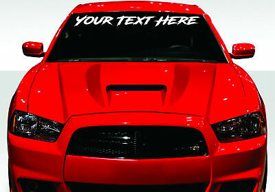 Rdecals Lower Standards Slim//Bold Windshield Banner Decal//Sticker 4x32