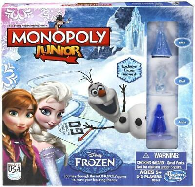Monopoly Junior Disney Frozen Edition Game- New / Sealed