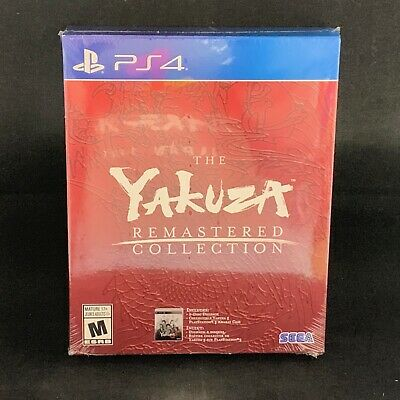 The Yakuza Remastered Collection (PS4) BRAND NEW