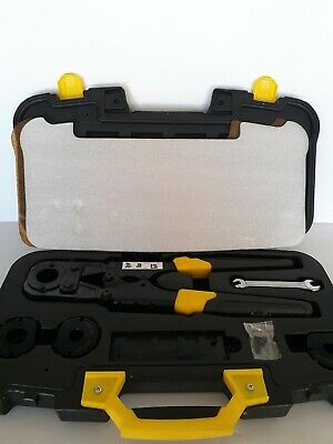 Apollo PEX 69PTKH0015K 3/8-inch - 1-inch Multi-Head Crimp Tool Kit