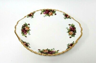 """Vintage Royal Albert Old Country Roses Relish Serving Tray 1962 England 11"""""""