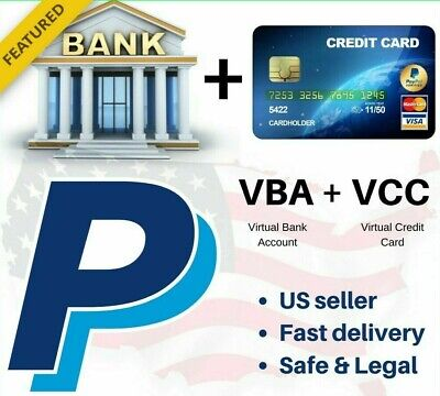 VBA US PayPal Verification (Virtual Bank Accounts)