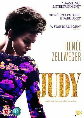 Judy DVD 2019 Renee Zellweger Rated Suitable For 12 Years And Over Format PAL