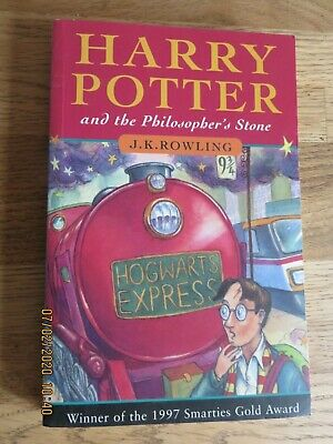 PAPERBACK: HARRY POTTER & PHILOSOPHER'S STONE 1st Edition 40th Impression