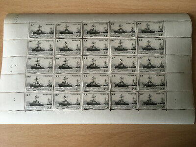 Timbres/stamp France Feuille complète Sheet du N° 752 x 25 Neuf ** Luxe MNH