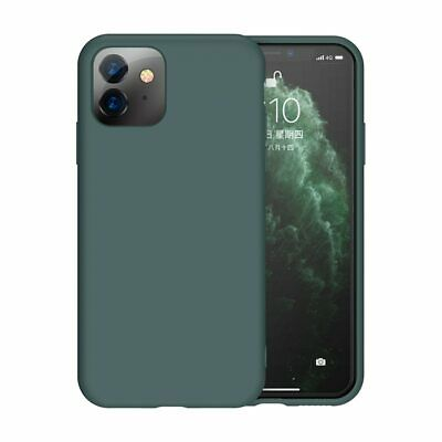 Liquid Silicone Cover For iPhone Thin Soft Case iphone 11 Pro X XR XS Max