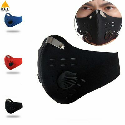 Activated Carbon Dust-proof Cycling Face Mask Men Women Anti-Pollution training