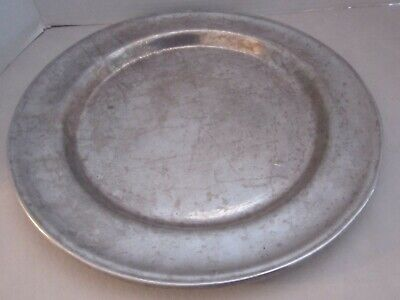 """WILTON RWP ARMETALE PEWTER 13"""" Serving Plate/Charger/Platter Columbia, PA"""