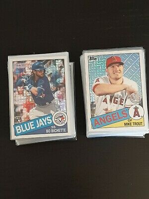 2020 Topps Series 1 1985 SILVER PACK CHROME MOJO INSERTS; U Pick Trout Acuna etc
