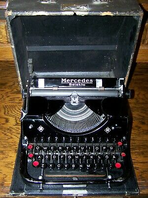 Antique Typewriter #2 Art Print on Vintage Book Page Office Home Decor Gifts