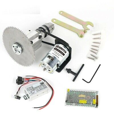 Small Table Saw Multifunction 775 Motor Woodworking Cutting Blade Machine Tool