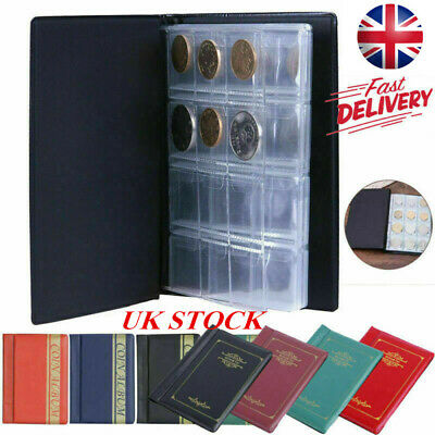 240 Album Coins Penny Money Storage BookCase Folder Holder Collecting Collection