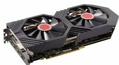 XFX RX 580 8GB 256bit GDDR Desktop PC Gaming Graphics Cards Video Card