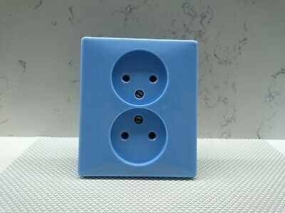 Soviet outlet cover Vintage double outlet USSR old socket
