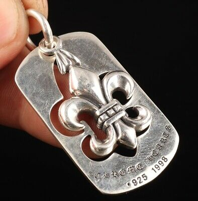 China 925 Silver Hand-Carved Anchor Pendant Lucky Collection Gift