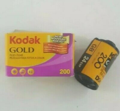 Kodak Gold 200 2 Rolls 24 Exposure 35 35mm Film Expired 9/2009 (F2)