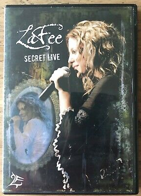 Lafee - Secret Live - Dvd