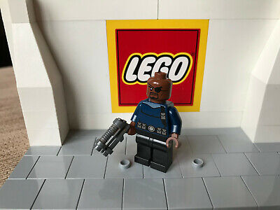 Lego Marvel Super Heroes Nick Fury Avengers Mini Figure Sh056 From Set 76004