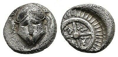 Thrace Mesembria Greek Ancient Diobol Coin 1.21 g 11mm