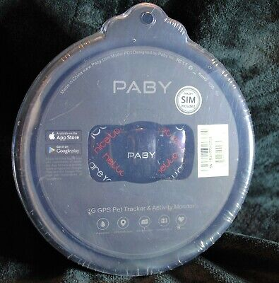Paby ~ 3G Pet Tracker & Activity Monitor ~ Model Pd1 ~ Blk/Red ~Free Shipping!!!