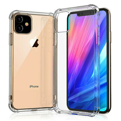 iPhone 11/11 Pro/11 Pro Max Clear Case Shockproof Bumper Slim Soft Silicone case