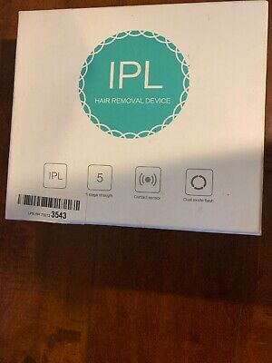 Syosin IPL Hair Removal Device New In Box For Black And Dark Hair People